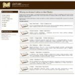 Lektury 0n-line – ekologiczna biblioteka szkolna Olsztyn