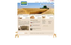 Mixt – sprzedaż mąki i otrąb, skup zboża, młyn Poniec i Góra