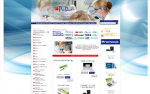Internetowy sklep stomatologiczny – PREDENT