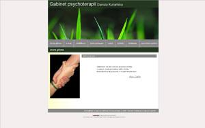 Gabinet psychoterapii – Danuta Kuriańska