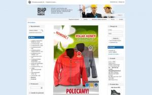 BHP, odzież robocza, akcesoria BHP, obuwie ochronne