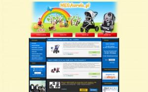 Megaurwis.pl – e-sklep z wózkami dziecięcymi graco