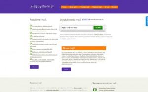 Wyszukiwarka Mp3 z ZippyShare