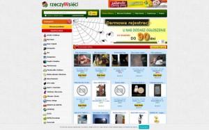 rzeczyWsieci.pl – aukcje internetowe