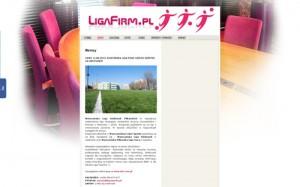 LigaFirm.PL – ORGANIZATOR SPORTU DLA KLIENTÓW BIZNESOWYCH