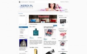 Sklep Internetowy – Keroi