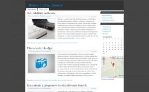 Blog o odzysku danych