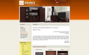 EWOMAX Sprzedaż mebli tapicerowany i twardych przez internet.