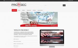 PROITSEC-  Hosting, Tworzenie stron WWW, Bezpieczeństwo IT