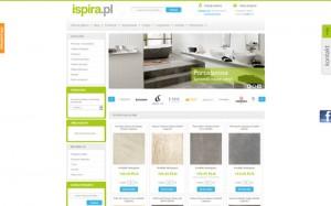 Ispira.pl – płytki ceramiczne, wyposażenie łazienek