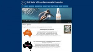 Distributor of Caronlab Australia Cosmetics