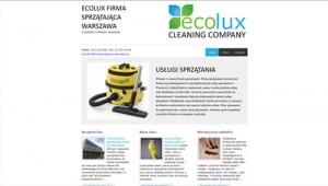 EcoLux sprzątanie biur pranie wykładzin mycie okien Warszawa