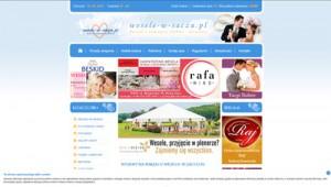 Portal weselny www.wesele-w-saczu.pl