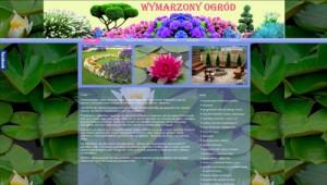 Wymarzony Ogród-projektowanie ogrodów,zakładanie ogrodów