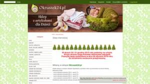 Okruszek24.pl Sklep z artykułami dla dzieci