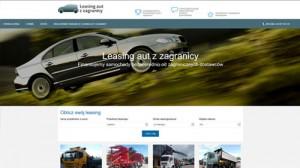 Leasing aut i maszyn z zagranicy