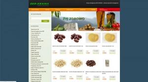 Sklep internetowy, zdrowa żywność  – Eko-Kraina.com.pl